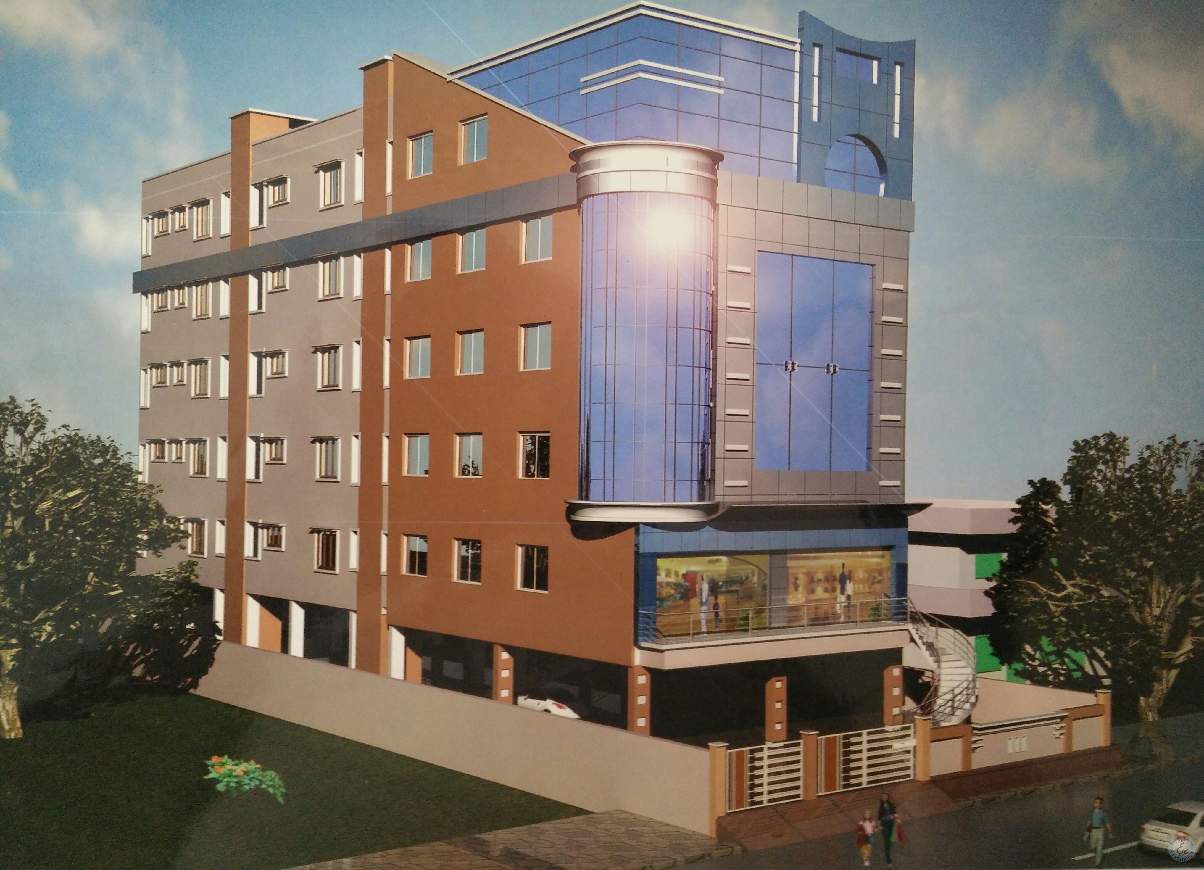 Independent Office Commercial Space For Tolet At Bhimavaram-2 West Godavari Dist.