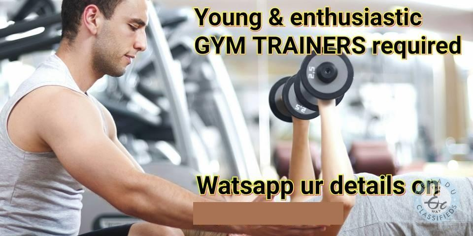 REQUIRED FITNESS TRAINERS And RECEPTIONIST In Hyderabad