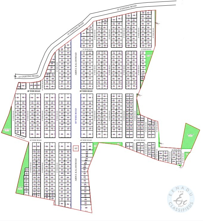 Open Plots For Sale At Rudraram