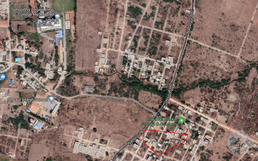 Plots For Sale In Nadergul Hyderabad