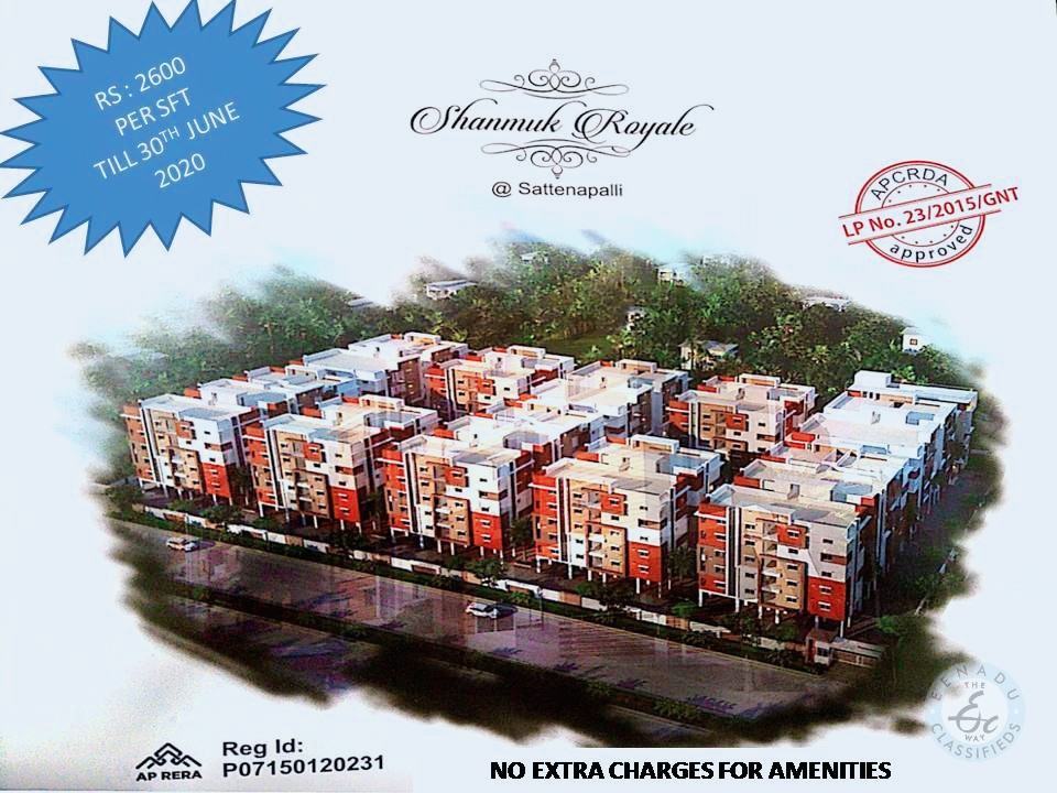 Flats For Sale In Sattenapally Guntur