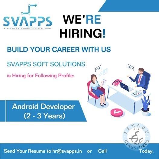 Android Developer Jobs In Warangal
