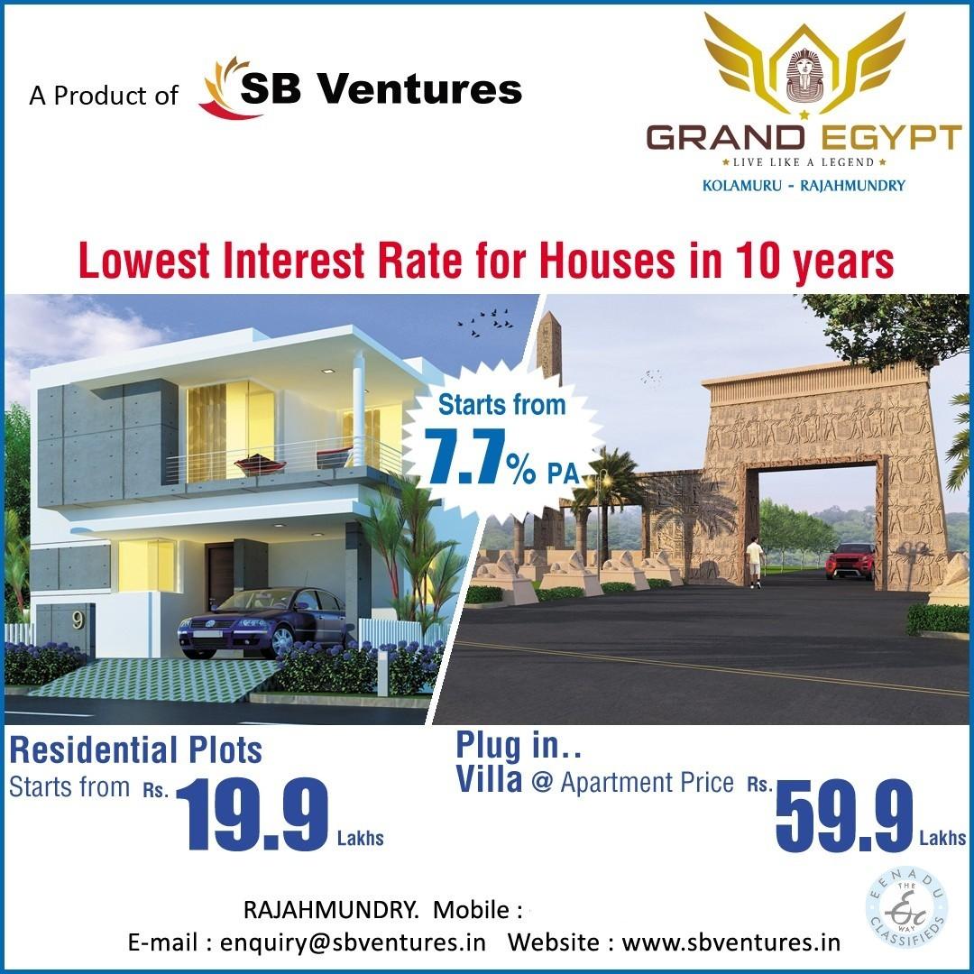 Plots For Sale In East Godavari