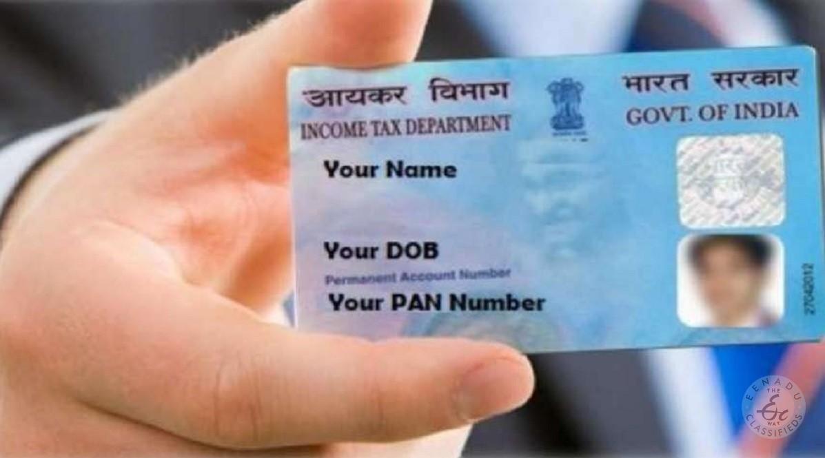 PAN Card Online Service In Hyderabad