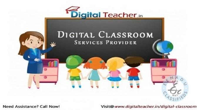 Digital Classroom Services Provider In Hyderabad