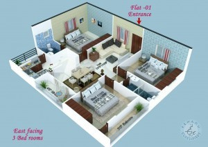 Flats For Sale At Suchitra & Cineplanet