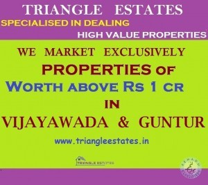 We Market Rs 1 Crore Above Value Properties In Vijayawada Guntur Tirupati Amaravathi