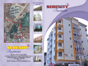 3BHK DELUXE FLATS FOR SALE AT KHAJAGUDA, HYDERABAD