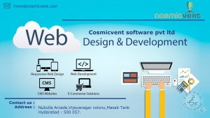 Cosmicvent Software Pvt Ltd Website Designing Company