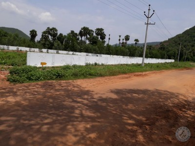 5.35 Lacs VUDA Approved Plots For Sale At Gandigundam Visakhapatnam