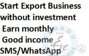 START EXPORT Business Without Investment