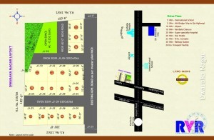 Plots For Sale In Kolamuru, Rajahmundry.