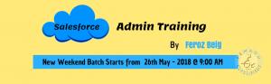 Salesforce CRM Admin Training In Hyderabad