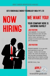 sales manager jobs in nellore