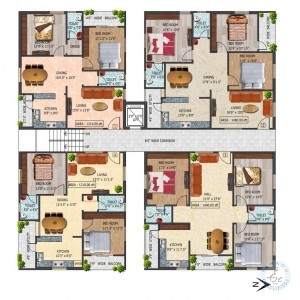 Flats For Sale In Near Lingampally Railway Station Hyderabad