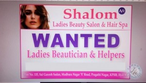 Beautician Jobs In Nizampet Hyderabad