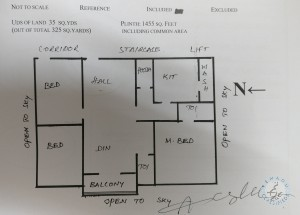 3BHK flat for sale in kukatpally hyderabad