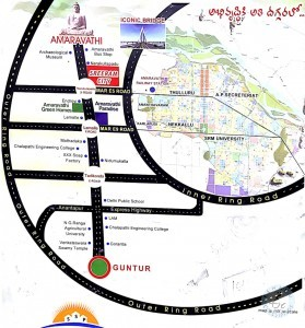 Plots For Sale In Guntur To Amaravathi Road