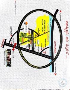 Gated Community Plots For Sale In Vijayawda-guntur Highway