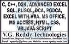 Home Tuitions And Online Training In Hyderabad
