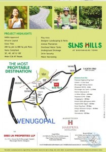 Plots For Sale In Bhongir Warangal Highway Nalgonda