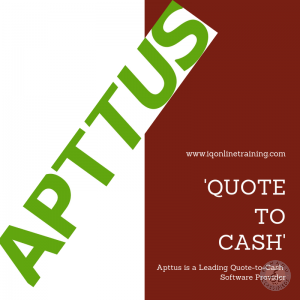 Apttus Online Training Course In India