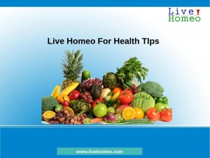 Homeo Health Tips In Hyderabad