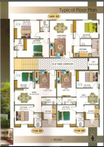 New 2 BHK Flats For Sale In Pendurthi Visakhapatnam