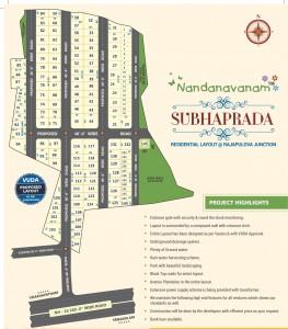 Vuda Plots For Sale In Tagarapuvalasa Visakhapatnam