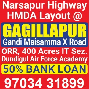 Plots For Sale In Dundigal Hyderabad