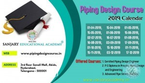 Piping Design Course In Hyderabad