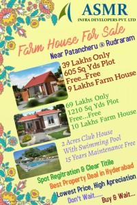 Farm House For Sale In Patancheru Hyderabad
