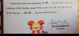 TDR For Sale In Visakhapatnam