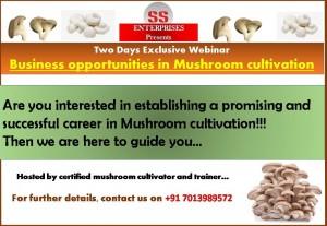 mushroom cultivation in hyderabad