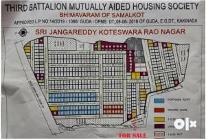 Plots For Sale In Samalkot East Godavari