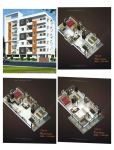 Flats For Sale In Miyapur Hyderabad.