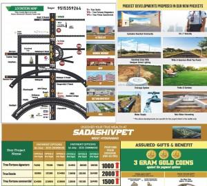 Plots For Sale In Sadasivapeta Hyderabad