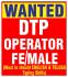 DTP Operator Jobs In Gopalapatnam Visakhapatnam